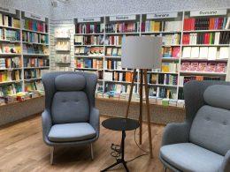 Leseecke in der Buchhandlung Osiander (Foto: Osiander)