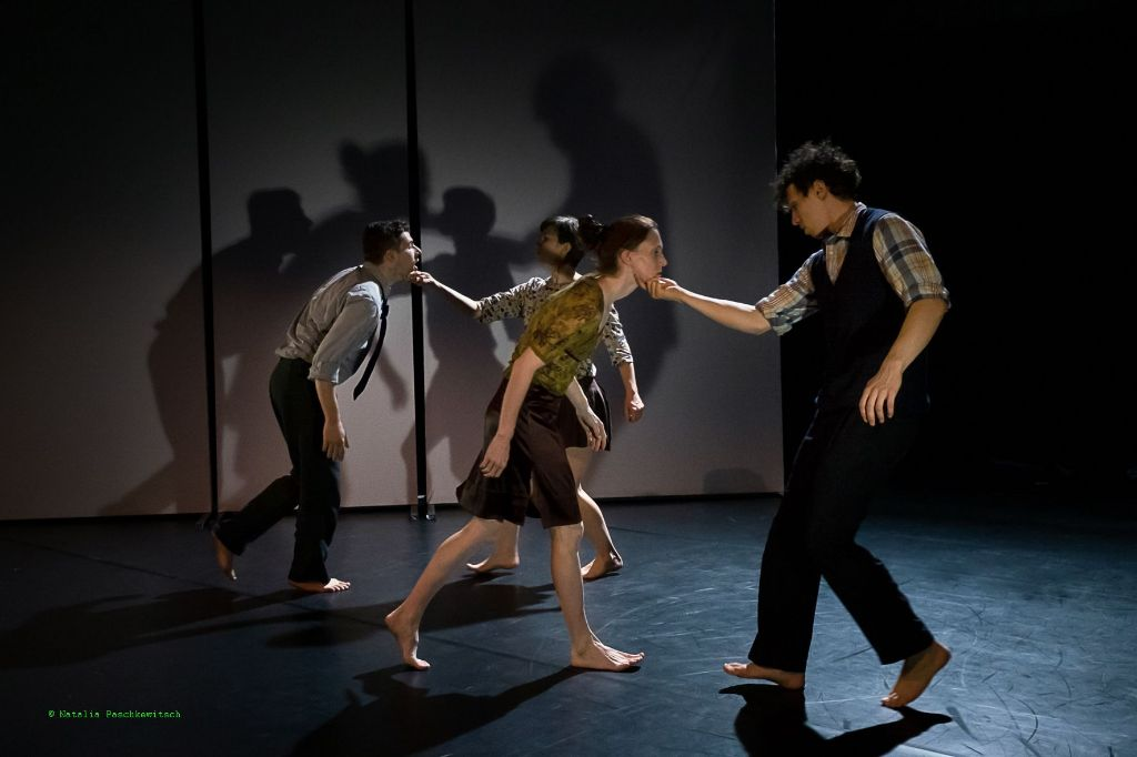 """""""Phobiagora"""". Eine Tanzperformance von Juliette Villemin & Team 2"""
