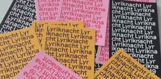 Stuttgarter Lyriknacht 2019