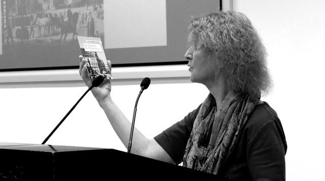 Jutta Weber-Bock stellte ihren historischen Roman im Hospitalhof vor