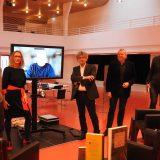 Alfred Klemm, Daniela Engist, Peter Blickle, Hubert Klöpfer, Wolfgang Tischer, Joachim Zelter (v.l.) © Sabine Fecke