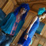 Blaue Menschen - schön schräg © Astrid Braun